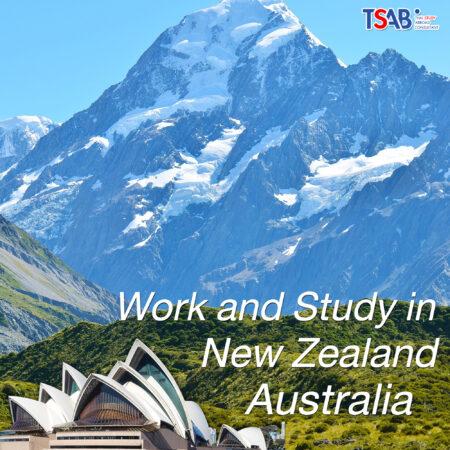 ทำงาน Australia และ New Zealand