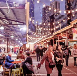 The Queen Victoria Night Market ตลาดอาหารนานาชาติที่สายกินจะฟินแน่นอน!