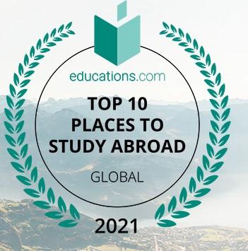 10 อันดับประเทศต้น ๆ ของโลกในการศึกษาต่อต่างประเทศ – 2021
